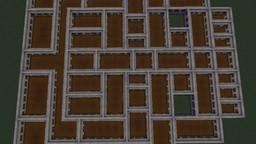 картинка к записи Ещё одна забавная постройка в Майнкрафт. Дом без окон без дверей