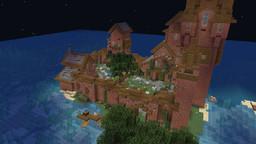 картинка к записи Замок постройка в Майнкрафт